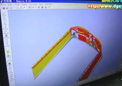 世界名牌太阳眼镜手板的制作全过程