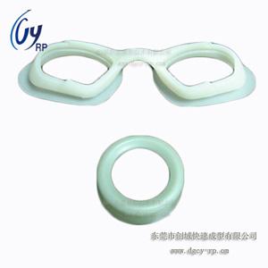 手板模型制作之游泳眼镜手板模型