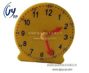 手板模型制作之塑胶电子钟手板